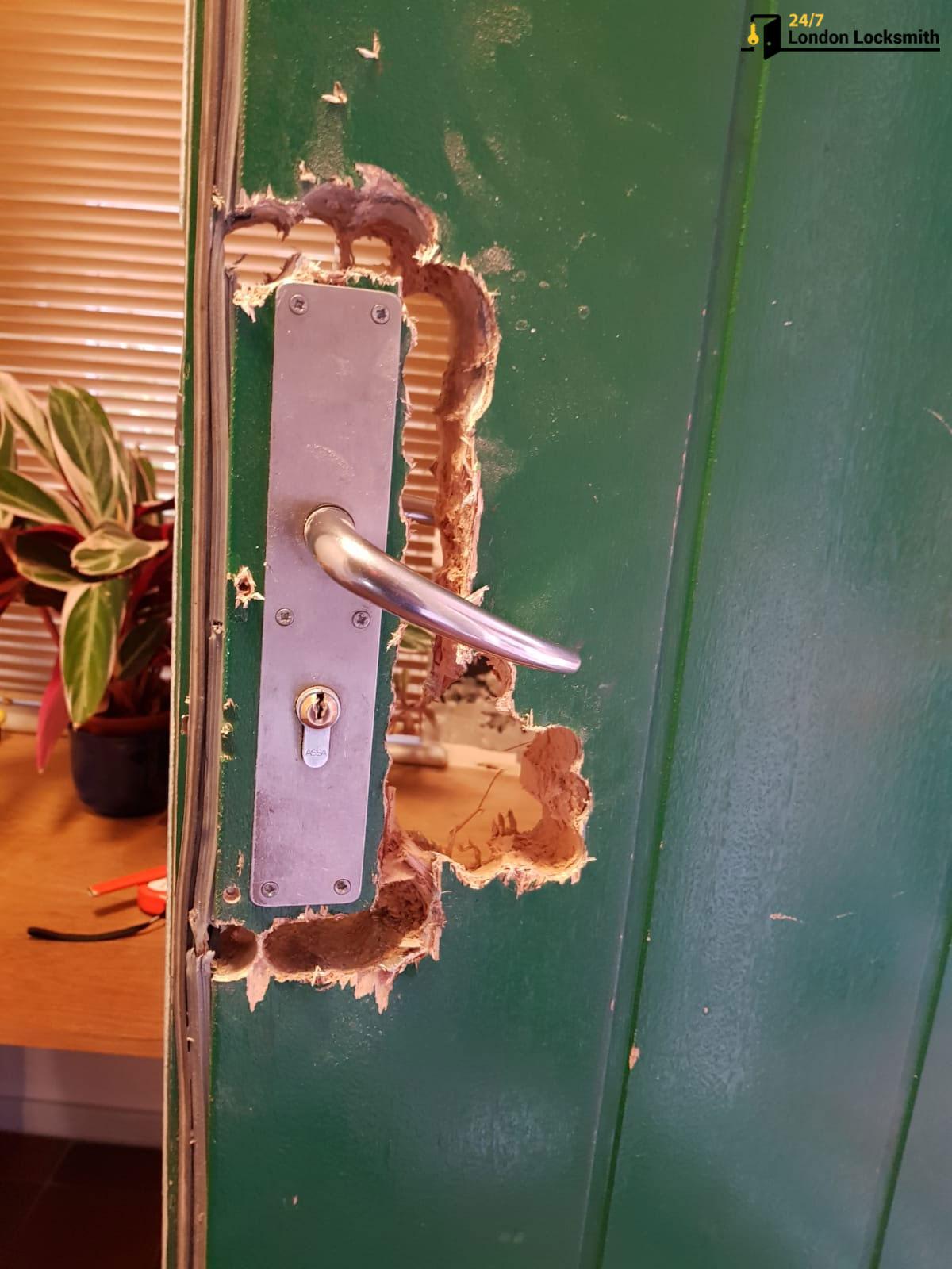 Lock-repair