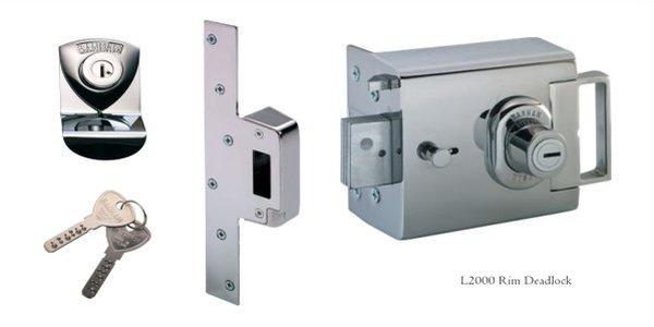 L200 Rim deadlock silver