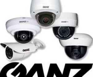 Ganz CCTV Logo install London