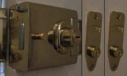 L2000 Deadbolt & Two M2002 Deadlocks Keyed Alike 4 Keys