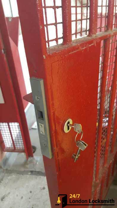 new lock installed london