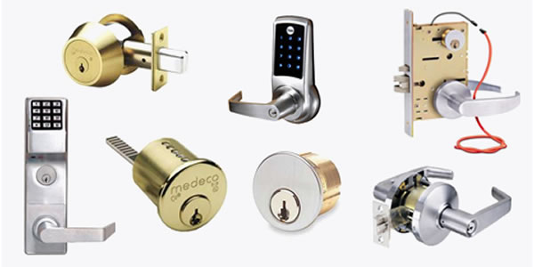 Different kinds of door locks
